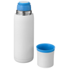 Flow vacuum insulated flask in white-solid-and-blue