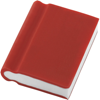 Book Shaped Eraser in red