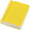 Book Shaped Eraser in yellow