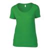 Anvil Women'S Featherweight Scoop Tee in green-apple