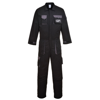 Texo Contrast Coverall (Tx15) in black