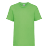 Kids Valueweight Tee in lime