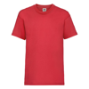 Kids Valueweight Tee in red
