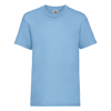 Kids Valueweight Tee in sky-blue