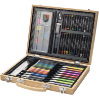 67 piece colouring set