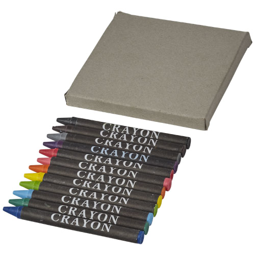 12-piece crayon set