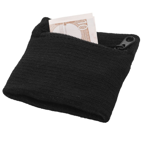 Brisky sweatband with zipper
