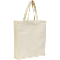 Wingham 4.5oz Zipped Cotton Fold-Up Shopper