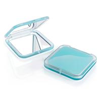 Blue Acrylic Compact Mirror