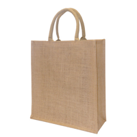Medium Natural Jute Exhibition Bag