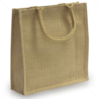 Small 100% Natural Jute Exhibtion Bag