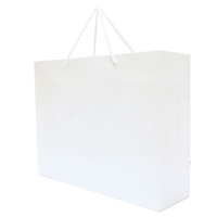 Recycled Matte Laminated Carrier Bag 200 Gsm