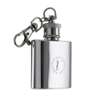 Hip Flask Keyring