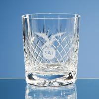 280ml Durham Lead Crystal Panel Whisky Tumbler