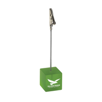 Clip Photo/Memo Holder Transparent-Green