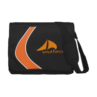 Boomerang Document Bag Orange