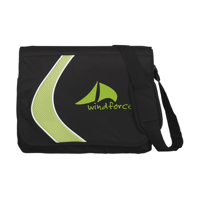 Boomerang Document Bag Green