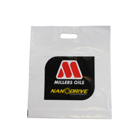14 Inch Patch Turn Over Top Bags - Printed 1 Side