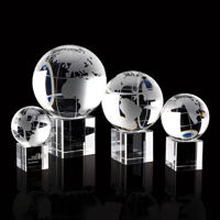 50mm globe trophy
