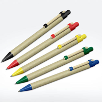 Storia Recycled Pens with Round Clip