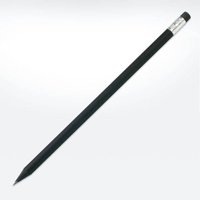 Wooden Black Pencil with Eraser - FSC