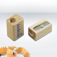 Wooden Pencils Sharpeners, Single