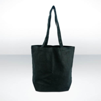 Bayswater Black Canvas Shopper