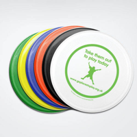 Recycled Frisbees, Medium 175mm