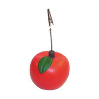 Apple Card Clip Stress Toy