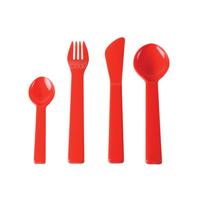 Cutlery Plastic Cutlery 4 pcs