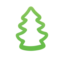 Cookie Cutter Christmas Tree Small