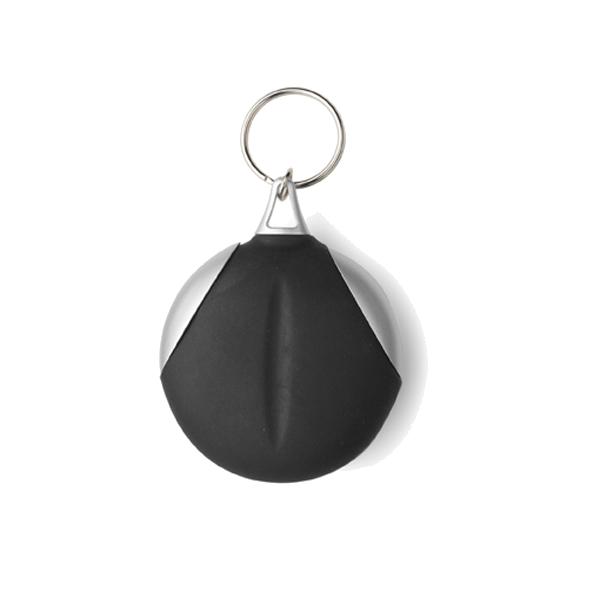Key holder with fibre cloth