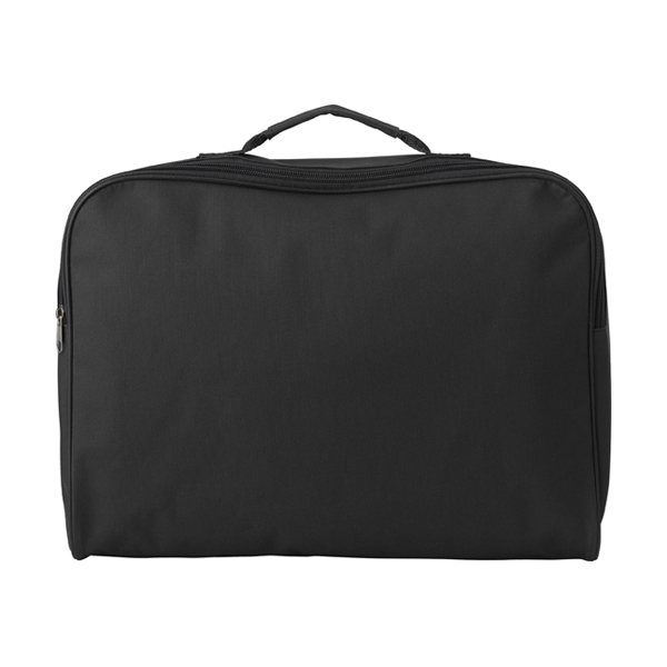 Polyester 600D document bag.