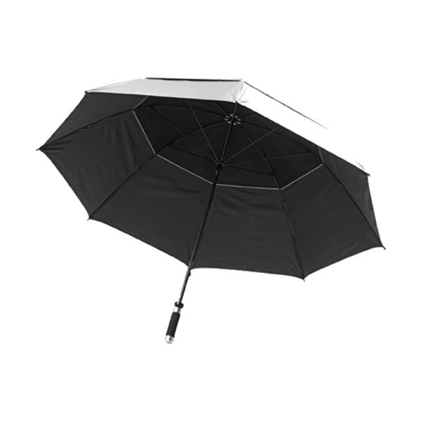 Storm-proof umbrella.
