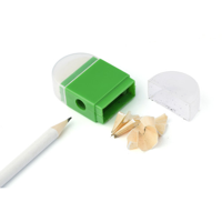 Eraser with pencil sharpener