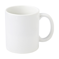11oz white photo mug.