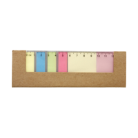 Card cover with 12cm ruler