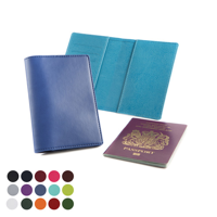 Deluxe Passport Wallet in a choice of Belluno Colours