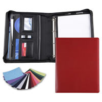 Belluno A4 Deluxe Zipped Ring Binder in a choice of Belluno Colours