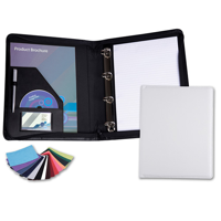 Belluno Zipped Ring Binder in a choice of Belluno Colours