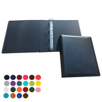 Belluno Coloured PU A4 Extra Wide Ring Binder