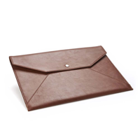 Sandringham Leather Under Arm Folio / Laptop Case with Press Stud to Close.