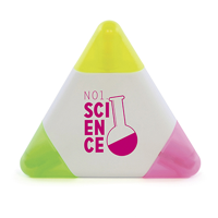 Wax Crayon Small White Triangle Highligher
