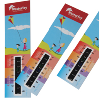 Thermometer Gauge Bookmark