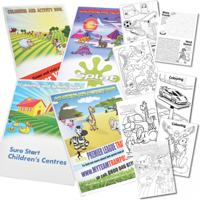 A4 Colouring Booklets