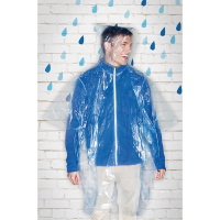 Foldable Raincoat In Polybag