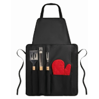 Bbq Apron With Bbq Tools