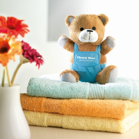 Bear Plush W/ Advertising Pants