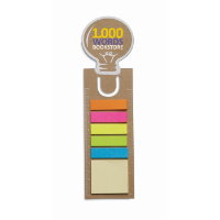Bookmark With Memo Stickers
