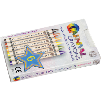 Carnival Crayons - 6 Pack
